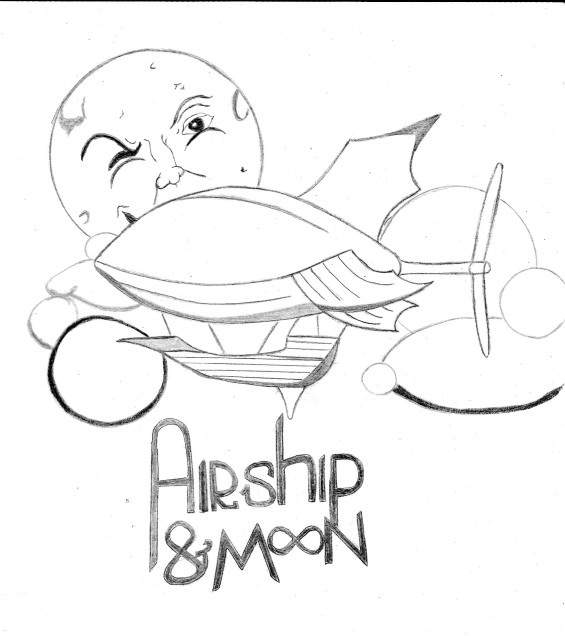 Airship&Moon-new